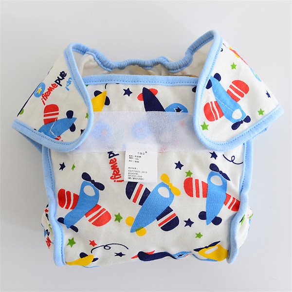 Printed Kids Training waterproof Pant Cartoon Diapers Print Baby Nappies Washable Reuseable Modern Kid Cloth Diapers MOQ 10Pcs S19JS197