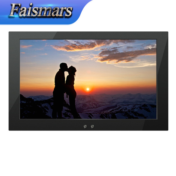 """top popular M140-EF Faismars 14 Inch Wide Screen LCD Monitor With VGA AV TV HDMI Port, 14"""" Embedded Open Frame Metal Industrial Monitor 2019"""