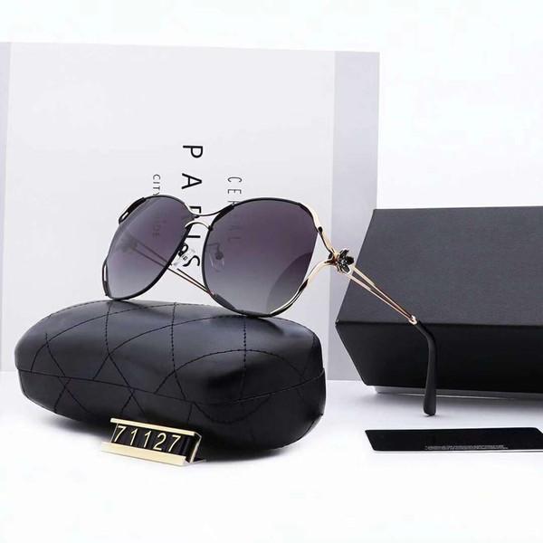 Модные цветочные дизайнерские солнцезащитные очки роскошные солнцезащитные очки женщина Adumbral очки Солнцезащитные очки UV400 71127 4 цвета дополнительно высокое качество с коробкой