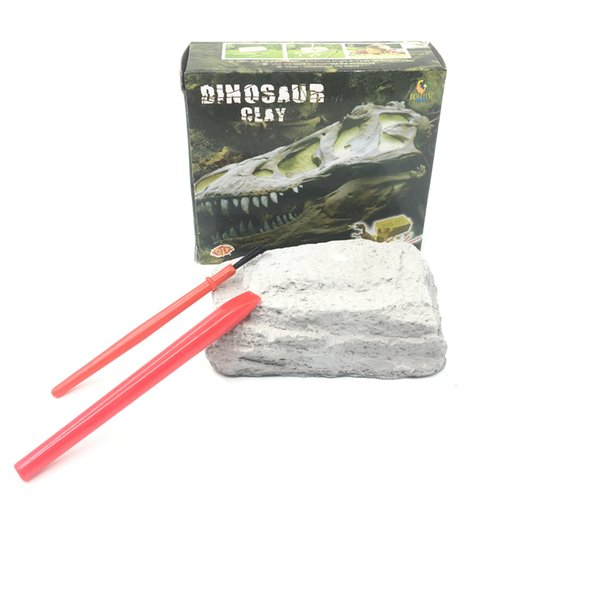 Novelty Archaeological Excavation Model Digging Dinosaur Fossil Toy Kids Science Education Develop Intelligence Operational Ability Gift