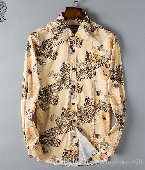 Мужская мода рубашки с длинными рукавами сплошной цвет повседневная рубашка 2018 зима новая блузка тонкий мандарин воротник подростка OverShirtc112