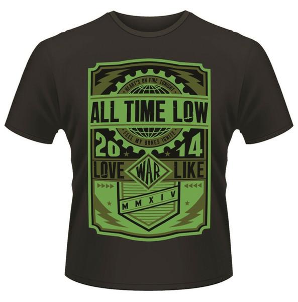 All Time Low 'War Press' T-Shirt - Neuf et Officiel
