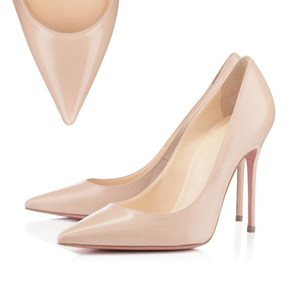 Pointed Toe Matt Nude