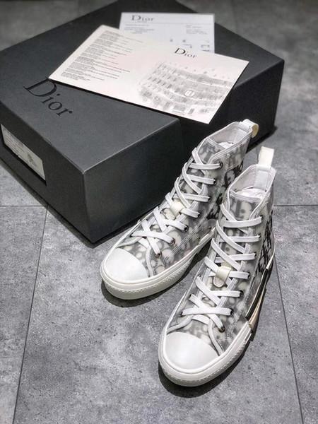 2019n yeni trend lüks tasarımcı çizgili rahat ayakkabılar yüksek kaliteli çift ayakkabı moda vahşi erkekler ve kadınlar spor ayakkabı 35-45