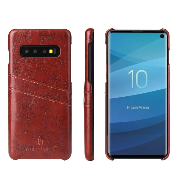 GalaxyS10 PU Leather Hard Case For Samsung Galaxy S10 Plus Cover S10+ Wallet Case Casing S10e S10 e Cell Phone Cases Fundas s10plus