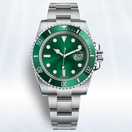 U1 factory luxury watch 40mm 116610LN 116610LV 116613LN Hulk Automatic watch Ceramic bezel Sapphire 2813 movement mens watches watch watches