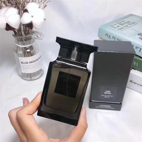 erkek ve kadınlar için Sıcak Satış Abanoz Agarwood Erkek Parfümü 100ML Nötr Woody Sprey Parfüm Yüksek Kalite Parfüm