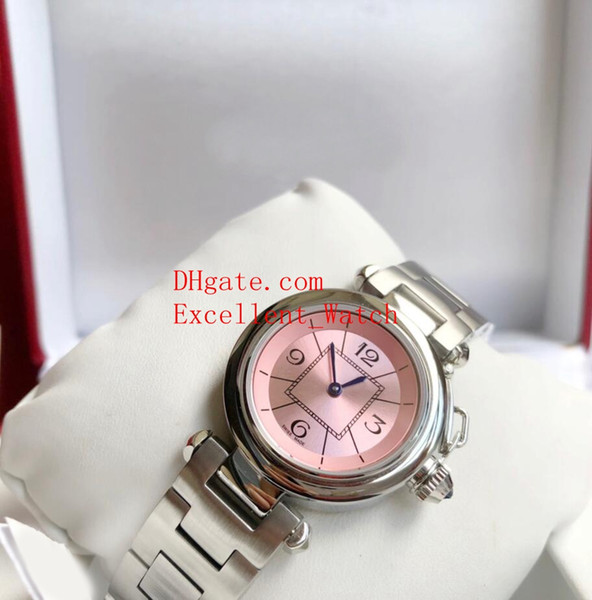Hot buy Ladies Watches 33 mm W31074M7 W3140002 Stainless Steel VK Quartz Watch Watches Christmas gift