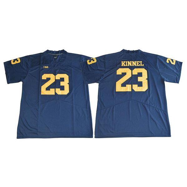 Hombres Michigan Wolverines Tyree Kinnel cosido NombreNumber Juego American College Football Jersey Tamaño S-3XL