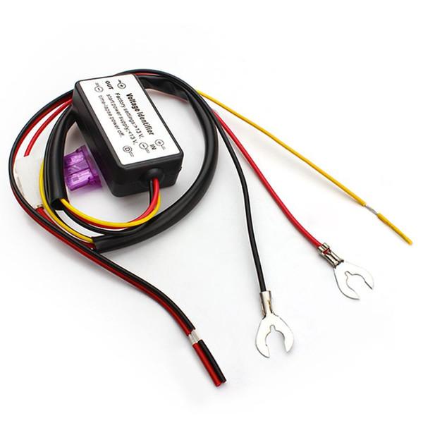 Новый контроллер DRL авто автомобиль LED дневного света реле жгута проводов диммер Вкл / Выкл 12-18 в противотуманные фары контроллер стайлинга автомобилей