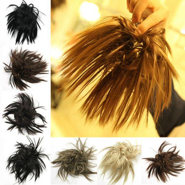 Tendance Anneau De Cheveux Haute Température Soie Populaire Couleur Pure Accessoires De Cheveux Naturel Perruque Couleur Bourgeon Fleur jooyoo