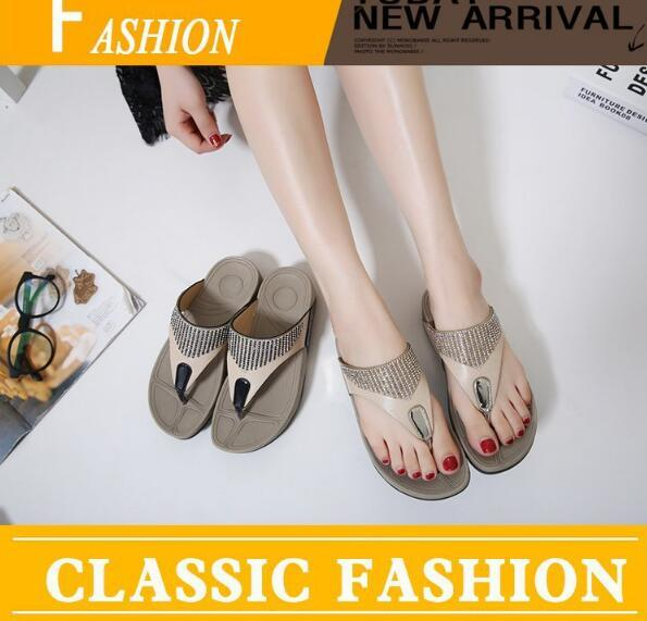 39b328c35 2019 New Rhinestone Casual Women S Sandals And Slippers