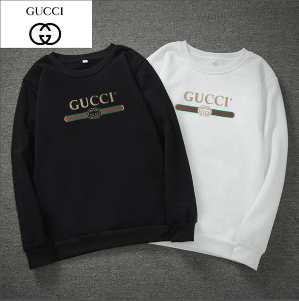 модные мужские толстовки толстовки Gucci толстовки дизайнер круглый вырез свитер High Street Supremo женщины спортивная рубашка пуловер толстовка