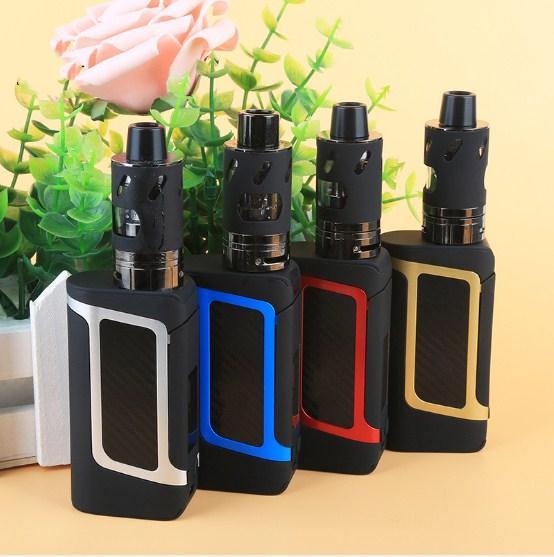 X7 80W Grande potenza Enorme grande fumo VAPE Kit sigaretta elettronica Vaporizzatore Narghilè Sigarette elettroniche Meccaniche Capacità 2000mAh