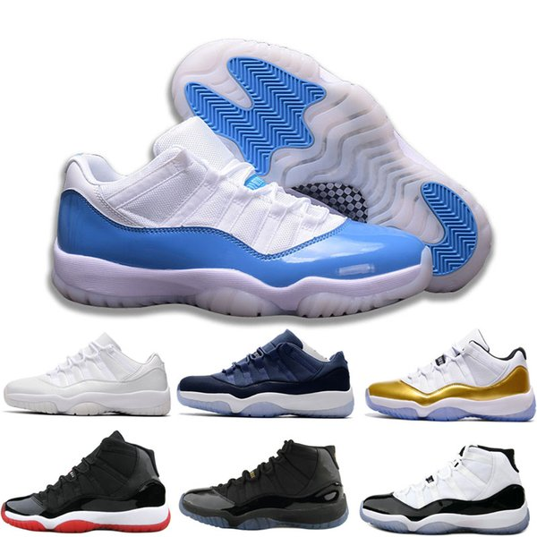 top popular Concord High 45 11 XI 11s Gown Heiress Gym Red Chicago Platinum Tint Space Jams Men Outdoor Basketball Shoes sports Sneakers size 13 2019