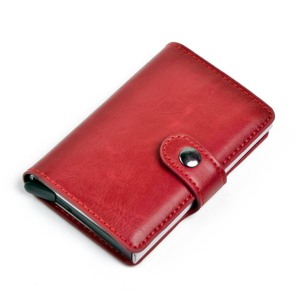 Retro mad horse leather red