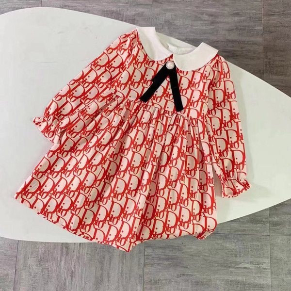 western girls outfit kids girls clothing new long sleeve collar long sleeve brand kids girls clothing