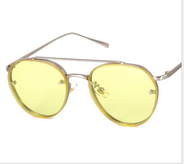 Fashion sunglasses marine film ladies sunglasses men's street shooting wild tide glasses