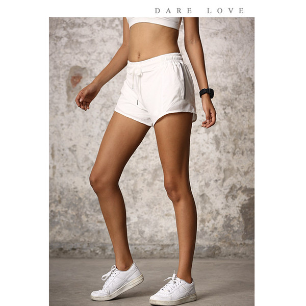 Article New Summer Cool Breathable Fitness Yoga Sports Reflective Safety Pants with High Elastic Shorts