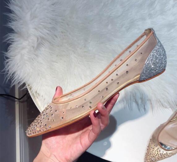 Moda de verano mujer tacón delgado pasarela Super Rhinestone remache encaje original sexy señoras OL boda colorida novia tacón zapatos casuales 90999988