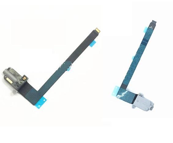 10 stücke Kopfhörer Audio Jack Dock Port Connector Flex Kabel für Ipad Pro 9,7 zoll A1673 A1674 A1675 kopfhörer wifi 4G Version