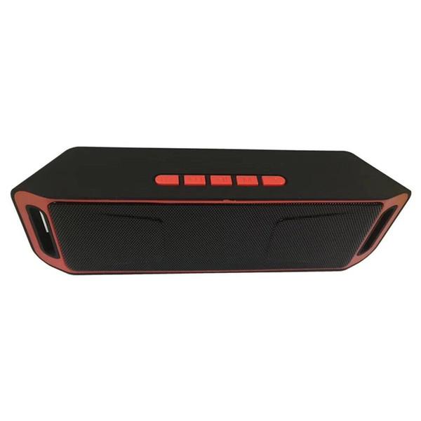 SC208 Wireless Bluetooth-Lautsprecher Mini-Lautsprecher tragbare Musik Bass Sound Subwoofer-Lautsprecher für Smartphone und Tablet PC Heiße Verkäufe