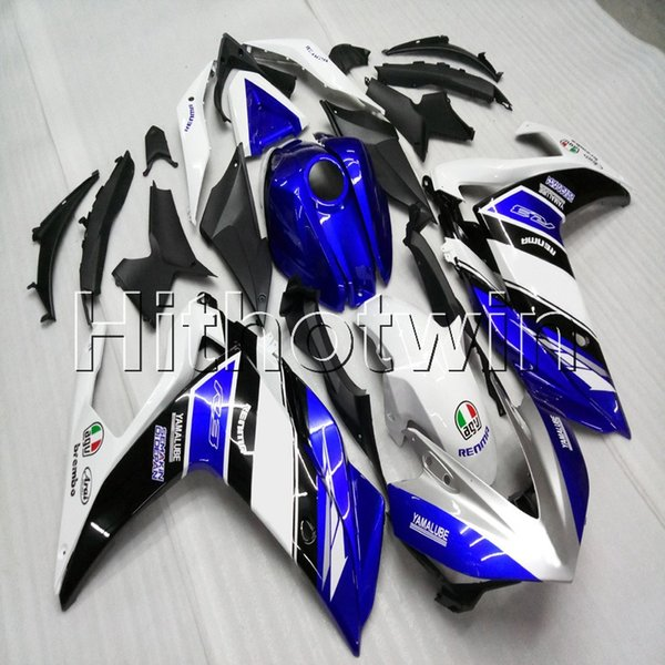 23colors+Botls Injection mold blue white motorcycle cowl for Yamaha R3 R25 2015 2016 YZF-R25 ABS Plastic Fairing