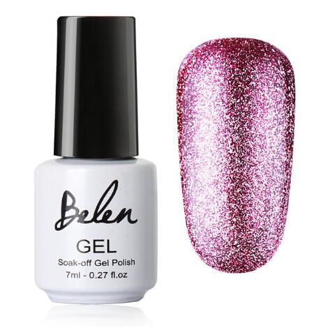 7ml Bling Color Platinum Nail Gel UV Gel Nail Polish Color Vernis Semi Permanent Nail Primer Gel Varnishes Lak Lacquer