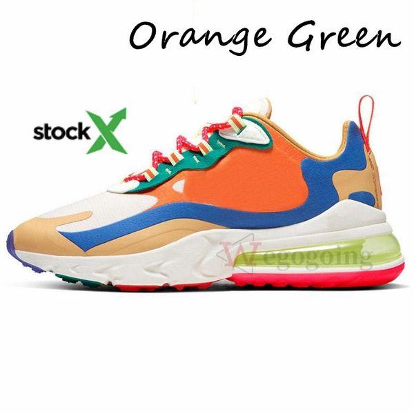 35.Orange Green