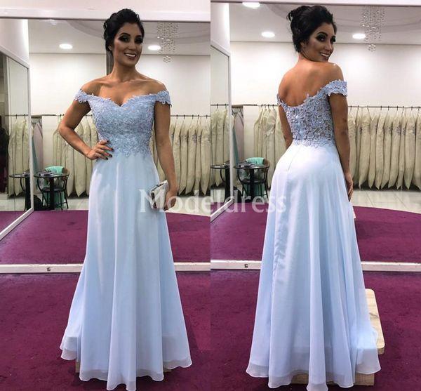 Lace Mermaid Long Evening Dresses Off Shoulder Chiffon Floor Length Backless Formal Prom Party Gown Elegant Loose Stylish Vestidos De Fiesta