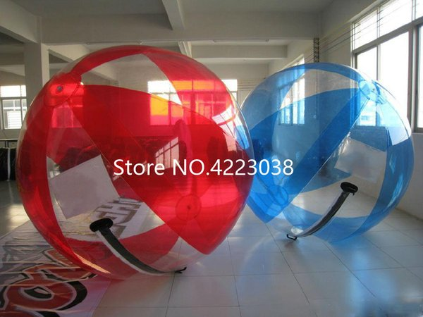 Free shipping for transparent walk on water ball ,inflatable water walking ball,Zorb ball for water pool