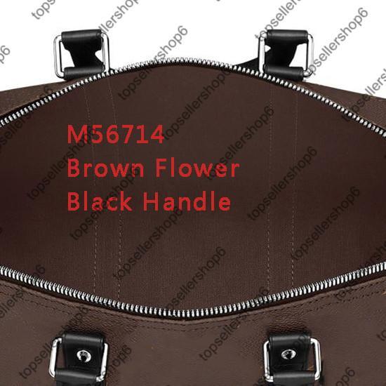 4 Brown Brief Blume / Schwarz Griff