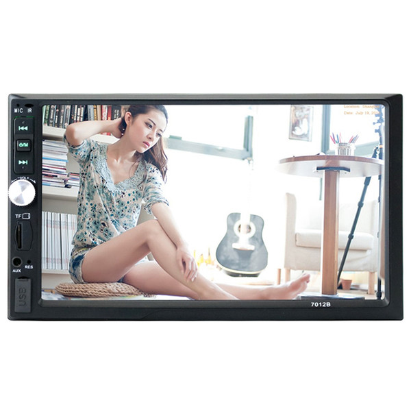 ZEEPIN DK7048 7-inch Auto Multimedia System with 16GB Micro SD Card 720P Touchscreen Car DVD / CD Player for Volkswagen ss
