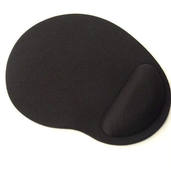 best selling Black Blue color Mouse Pad with wrist rest support good quality EVA material free shipping