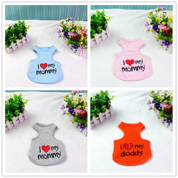 Pet Dog Vest T-Shirt Clothes Small Puppy Clothing Apparel Kitten Clothes Cat Outfit