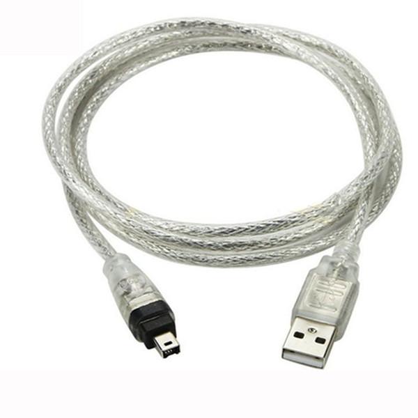 USB-Stecker auf Firewire IEEE 1394 4-Pin-Stecker iLink-Adapterkabel firewire 1394-Kabel für SONY DCR-TRV75E DV-Kamerakabel