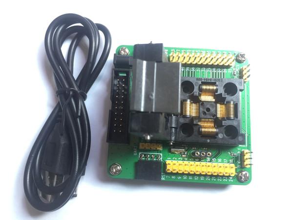 STM32-QFP48 Programming Adapter LQFP48 STM32F10xC STM32L15xC Yamaichi IC51-0484-806 IC Test Socket 0.5mm Pitch