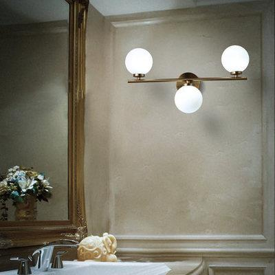 Luzes de parede lâmpadas de parede Nordic LED Modern Molecular Bola de vidro para sala de estar Quarto Artístico parede interior Lighting Luminaire