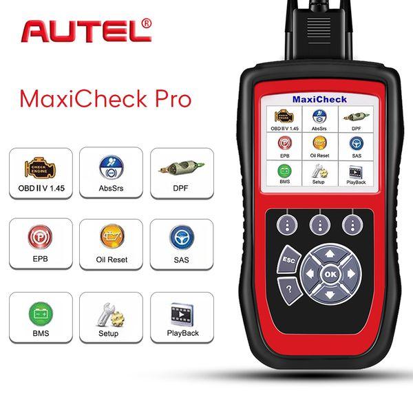 Autel Check Pro OBD2 Scanner Car Diagnostic Tool EPB/ABS/SRS/SAS/Airbag/Oil Service Reset/BMS/DPF Code Reader Scanner Automotivo