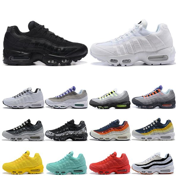 Mens Running Shoes What The OG Grape Neon TT Black Red Mens Trainers Triple White Black Sports Sneakers size 40-45