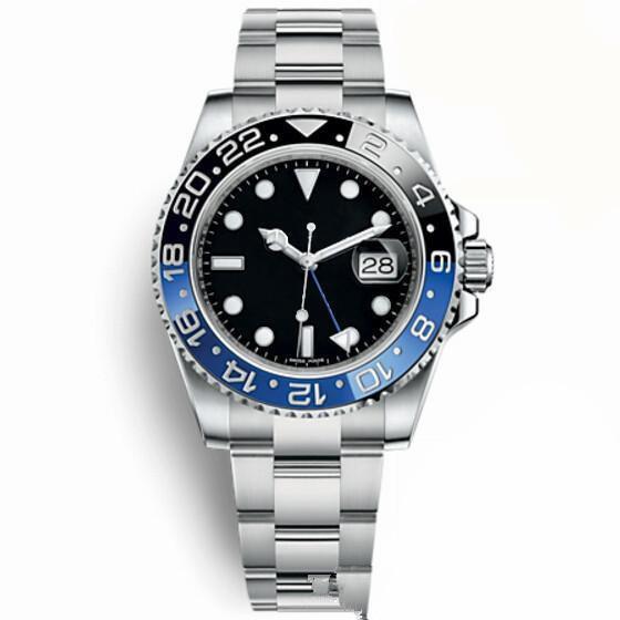 Top Luxury Master Ceramic Bezel Mens Watches Glidelock Clasp Automatic Blue Black Watch Sports Crown Wristwatch Orologio Reloj on sale FU214