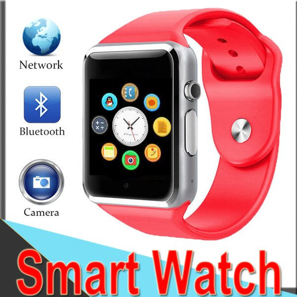 Smartwatch A1 Bluetooth Wrist Watch Sport Pedometer Answer&Dial Calls with SIM Remote Control Camera Smart phone for Android 2XCTA1