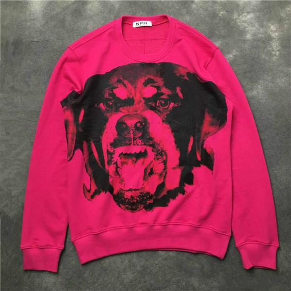 uomini givenchy 19ss GIV mens hoodies del progettista uomini nuovi brand di moda di lusso con cappuccio felpa moda animale di alta qualità di stampa H1 progettista abbigliamento
