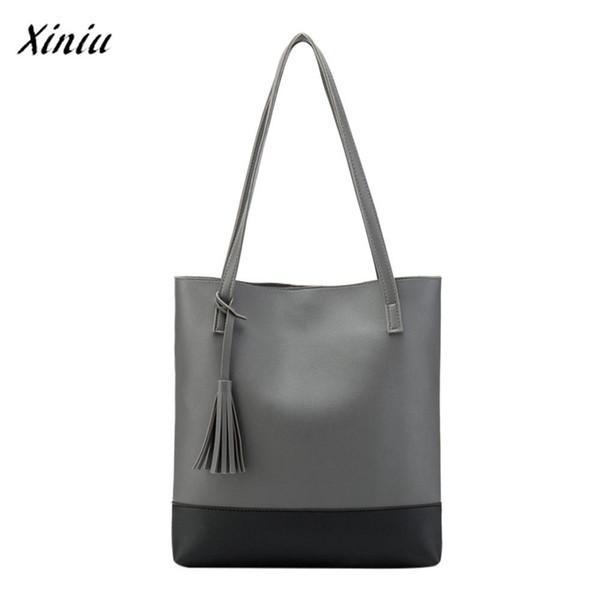 xiniu Fashion Luxury Handbags Women Bags Designer Tassels Messenger Shoulder Bag New Multi Colors Hangbag Bucket Bag