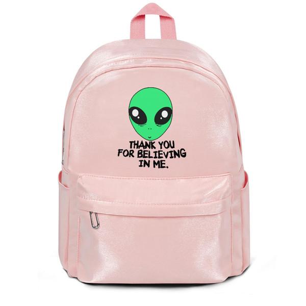 Grateful Alien We Heart It pacchetto rosa, zaino, zaini per ragazze zaino da viaggio zaino freddo Mini zaino da college Zaino per studenti