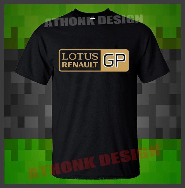 Hip Hop Neuheit T Shirts Herrenbekleidung Neue Lotus Renault Gp T-Shirt