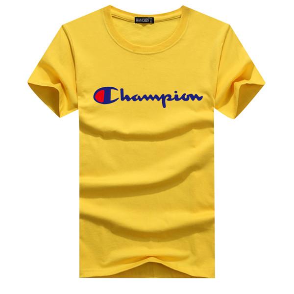 Cuello redondo 2019 y camiseta de algodón de manga corta, camiseta de moda. El estilo más popular, el precio más barato. Tamaño: S - XXXXXL