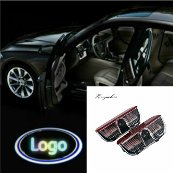 2 PC 12V LED car door laser projector logo emblem Welcome Shadow Lamp for Skoda W212 W176 4matic E B C ML GL Class