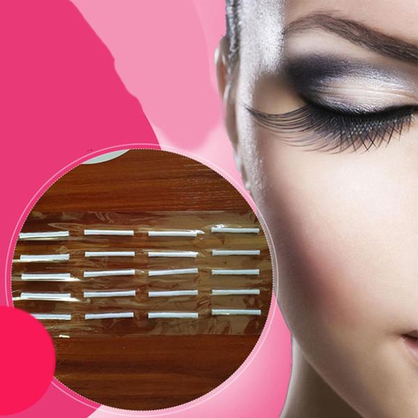 20 Unids / set Pestañas postizas Rizadores permanentes Pestañas Extensión Varillas rizadoras Palos Herramienta de maquillaje Maquillaje de ojos