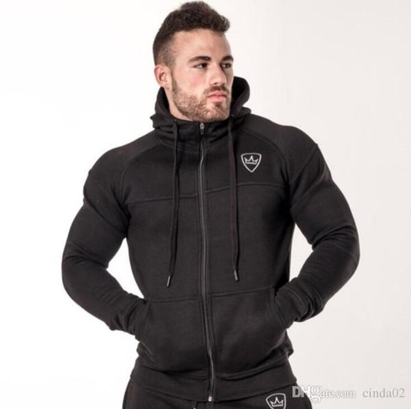 Automne Hommes À Capuche Nouveau Sportif Hiver Tops Hommes De Mode Trainingspak Survetement Sportswear Sweats